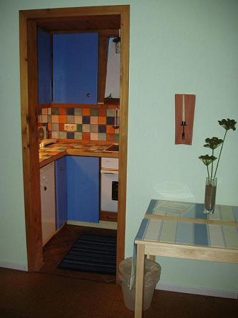 Küche von Wohnung A