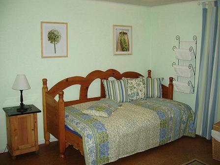 Wohnzimmer von Wohnung A
