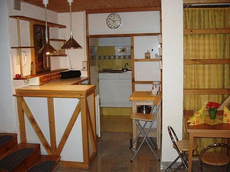 Küche von Wohnung B