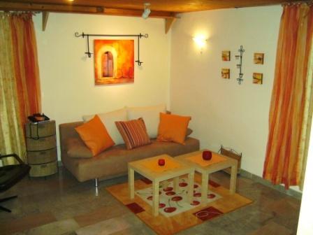 Wohnzimmer von Wohnung B