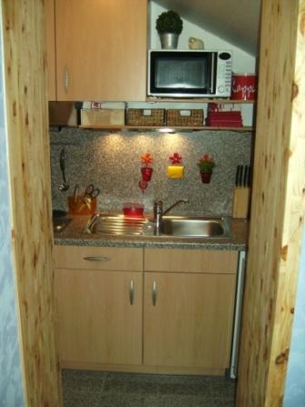 Küche von Wohnung C